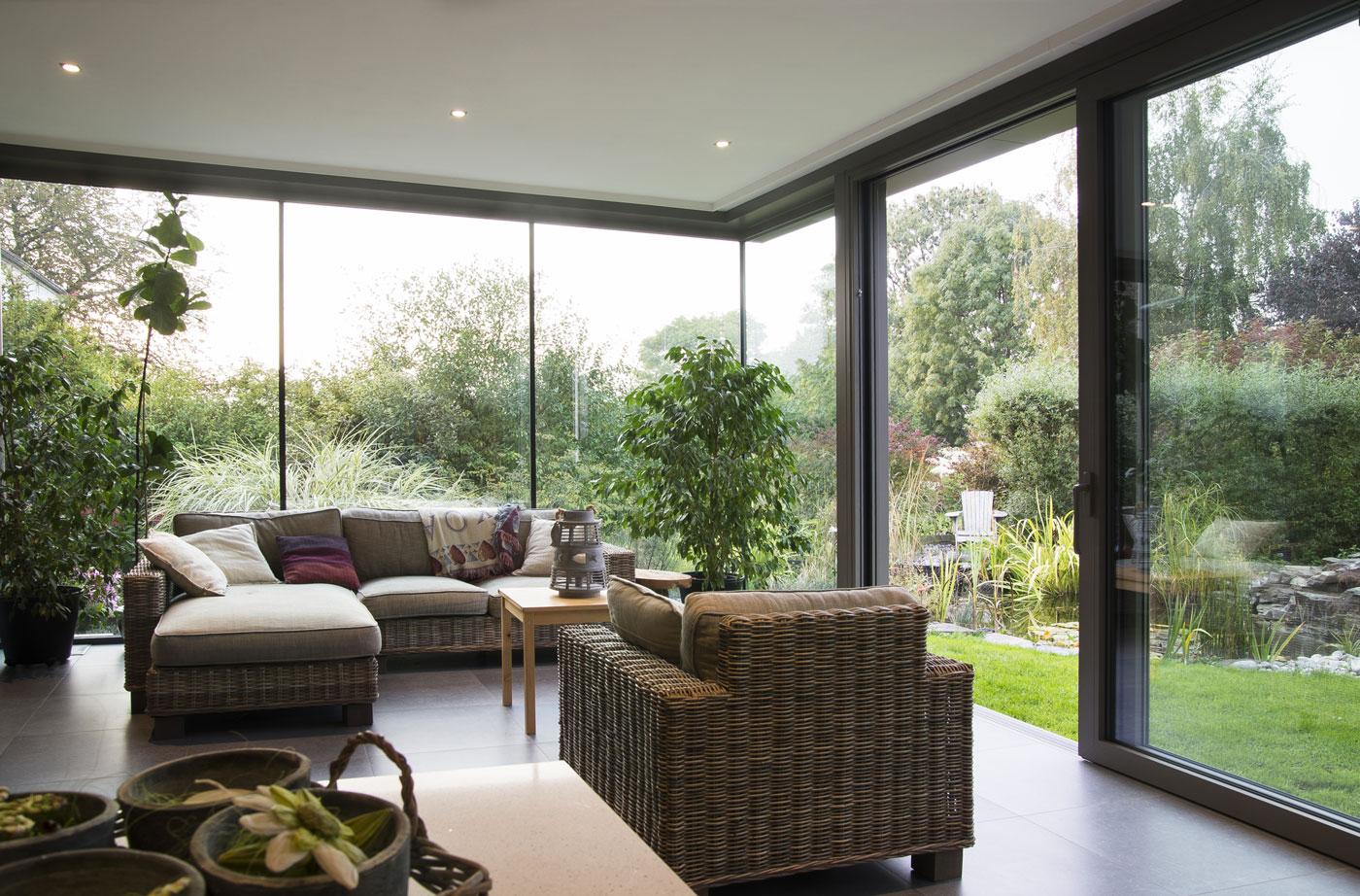Giardini d inverno per impreziosire la tua casa in fissa per - Giardino d inverno normativa ...